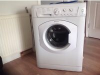 Hotpoint washing machine.