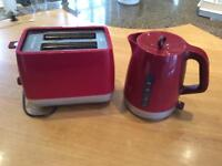 KETTLE AND TOASTER. £10 for the pair.
