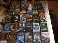 30 Mixed DVDs Action ,Horror ,Sci Fi ,Comedy,Plus 6 Box sets as in Pictures bargain £20