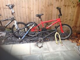 Bikes and bike frames for sale