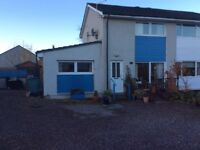 3Double bedroom House in Culloden .