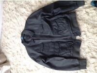 Mens leather jacket- immaculate condition