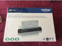 Brothers mobile document scanner