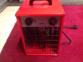 3k/w fan heater