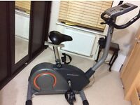 Upright exercise bike
