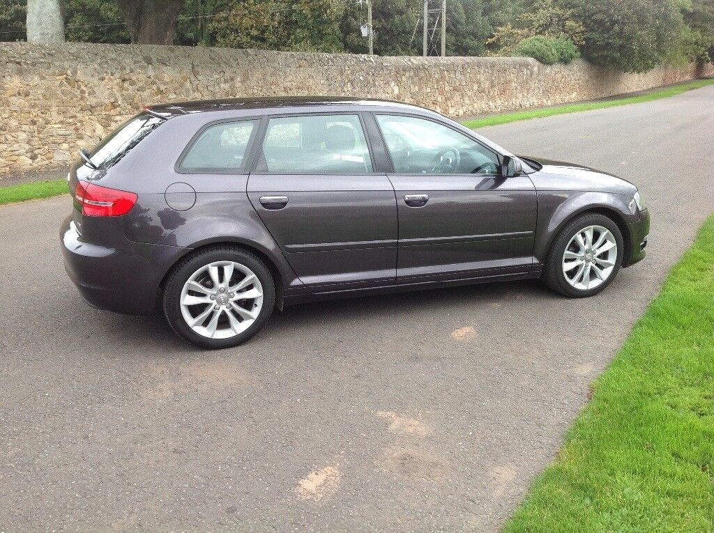Audi A3 Sportback 1.6 TDI Sport, now £6200, first offers secures