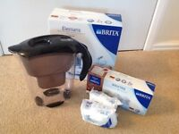 BRITA Elemaris Cool Water Filter Jug and 5 new cartridges