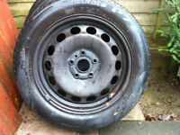 "Golf 16"" winter wheel rims . for 2006 onward . add winter tyres put on front wheels"