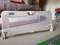 Cot/single bed safety rail for sale