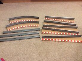 Scalextric border and crash Barriers x 7