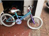 Girls bike 4-8 years old.