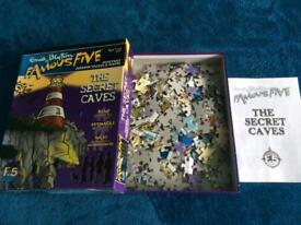 3 different 250 piece mystery jigsaw puzzles