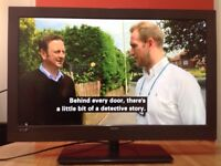 Bush 32 inch HD LED TV with Freeview, USB, great condition