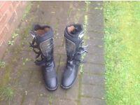 Men's WULFSPORT motocross boots