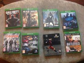 Xbox one games job lot