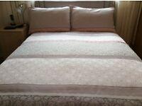 Brand new super king size duvet, cover and pillow slips