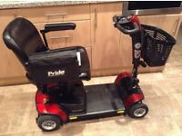 PRIDE GOGO ELITE TRAVELLER LX MOBILITY SCOOTE RIN EXCELLENT CONDITION WITH USER MANUAL