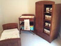 Nursery furniture 3 piece set I LOVE MY BEAR..Wear and tear..