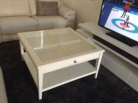 Coffee table ikea liatorp glass top