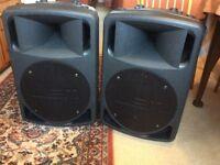 Pair of LEM d400 Active Speakers
