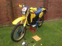 1986 Suzuki TS125 X. Great condition, reliable and learner legal. MOT Jan'18. Recent service.