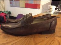 Ted Baker Mens brown shoes 8 42