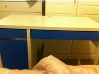 Childrens Blue and white desk