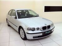 BMW 3 SERIES 2.0 318ti SE Compact 3dr - 12 Month MOT - Full Service History