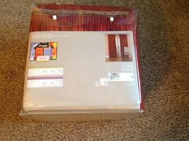 """Brand New Curtains 90""""L x 86""""W(each curtain).Fully lined.Still packaged.Never hung.cost £119"""