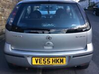 FOR SALE MY VAUXHALL CORSA 2005 NEW SHAPE 1.2 SXI 3 DOOR ONLY 90.000 MILES !!!