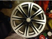 "Mana racing 18"" alloy wheels multifit 4x100 And 4x108"