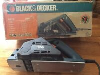 Black & Decker KW710 electric planer. Used but works