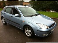 **AUTOMATIC**2004 FORD FOCUS**MOT AUGUST 2017**LOW MILEAGE** ONLY 83K FROM NEW .