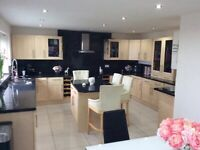 Fully Fitted Kitchen units plus Island currently still installed but can arrange to take out
