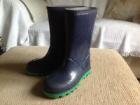 Mothercare Navy Wellies ~ Size 11