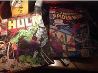 Marvel comic canvas prints