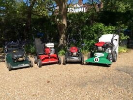 X4 garden machines for sale together