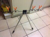 New x4 telescopic tripod fishing rod holder / stand