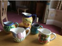 Lovely selection of small ceramic jugs