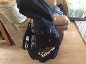 King Cobra quality tour golf bag.