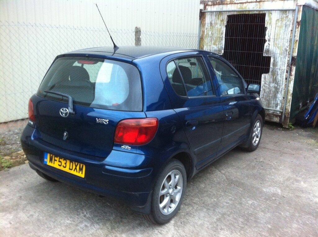 To break or fix: 03 Toyota Yaris D4D, 90000m + extra fuel pump & SCV - £400  ONO | in Westbury, Wiltshire | Gumtree