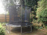 Sportspower 10ft Trampoline with enclosure netting