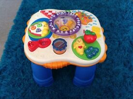 Fisher price,laugh and learn activity table.