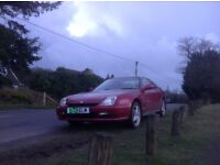 Honda prelude late 1999 all history for every year low milage 44550