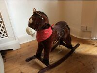 Rocking Horse with Moving Mouth and Horse Sounds