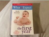 Book what to expect the first year
