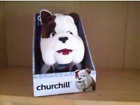 Churchill Dog - talking
