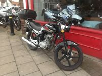 LEXMOTO ARROW 125cc IDEAL LEARNER BIKE PRE TEST OR PERFECT COMMUTER OR DELIVERY BIKE