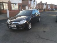 49000 miles Vauxhall Astra 1.6 club 5dr hatchback petrol manual 2007 black 1 owner full history£1795