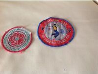 Two Wigan Casino patches for Northen Soul collectors